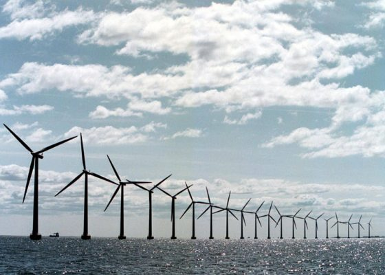 Lincs Wind Farm Offshore Windfarm